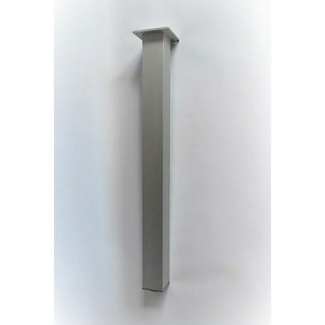 NOGA STOŁOWA KWADRAT 60x60 (1szt.) elektropoler